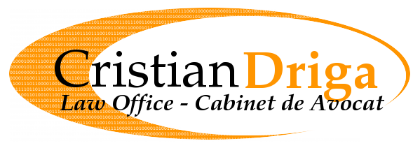 Cristian Driga law office – Iasi & Bucharest, Romania